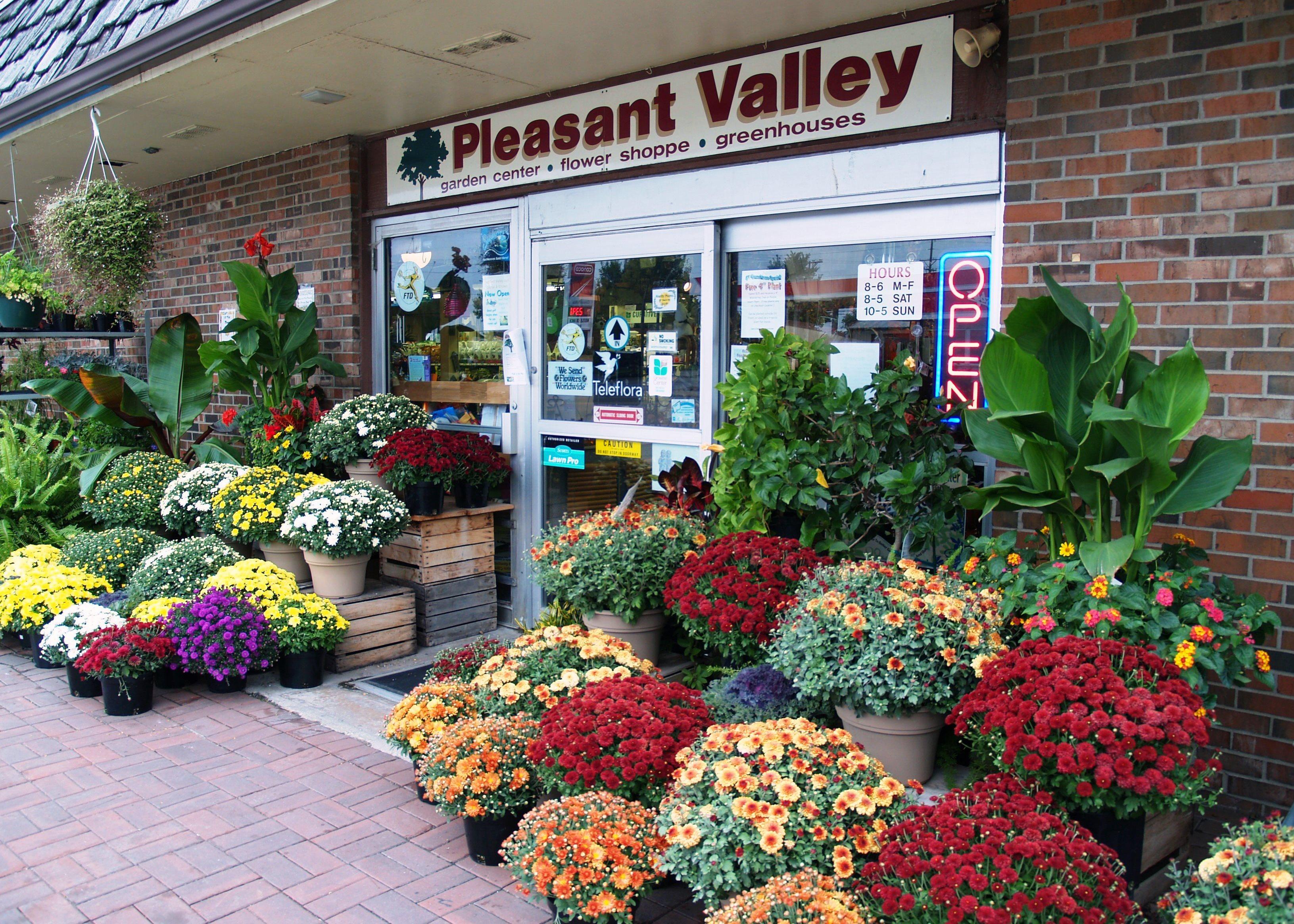 pleasant valley garden center